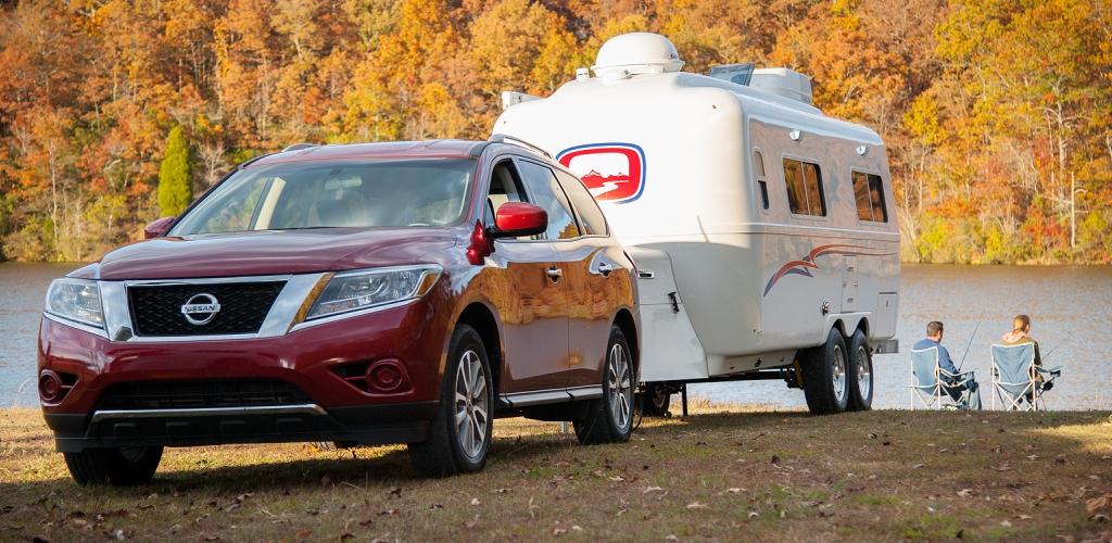Oliver fiberglas camper
